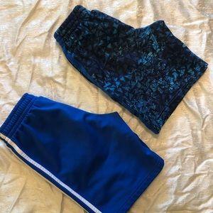 Bundle of 2 sports shorts size S